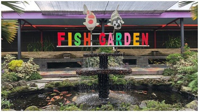 Fish Garden, wisata edukasi keluarga murah meriah