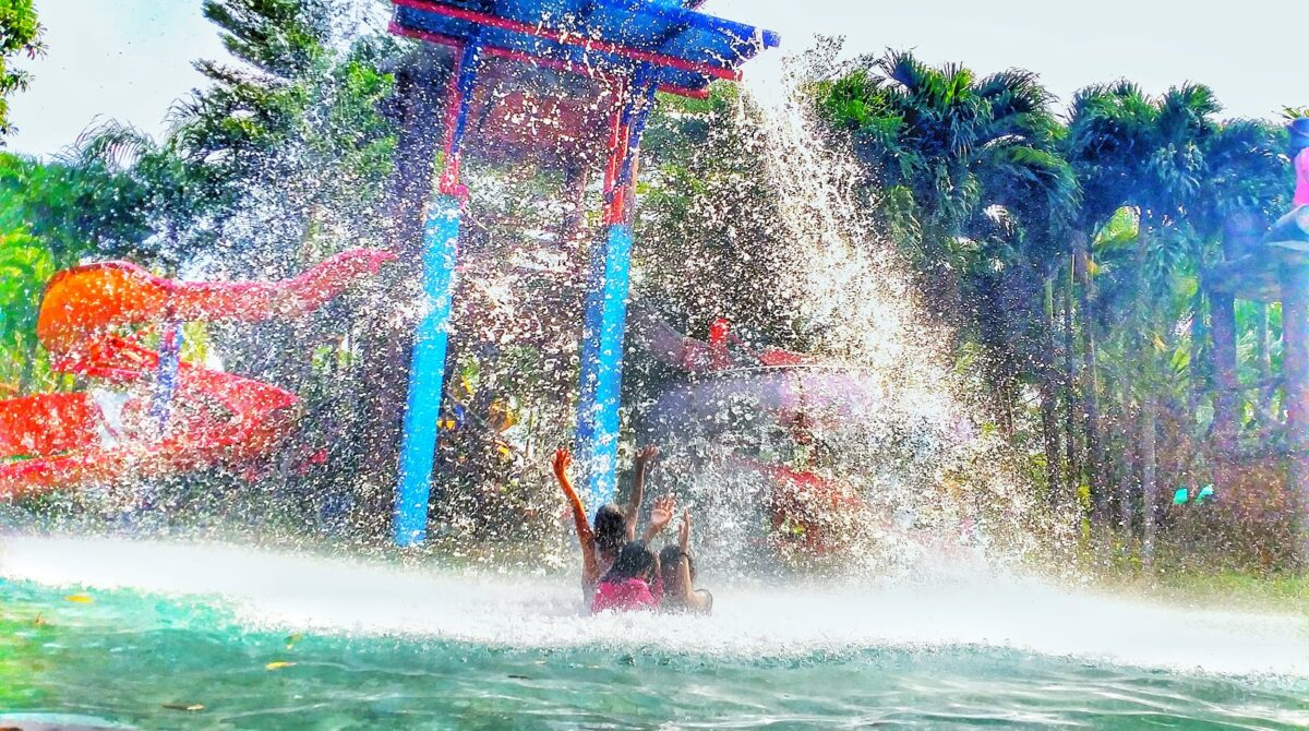 Citra Garden Waterpark, Berenang terasa menyenangkan