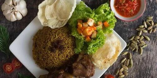 Nasi Kebuli Beras Hitam, Mantab dan Kaya Manfaat