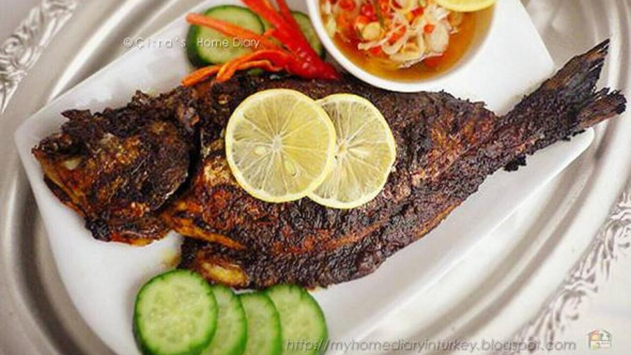 Ikan Bakar Bumbu Bali, Enaknya Sajian ini, Begini Resepnya