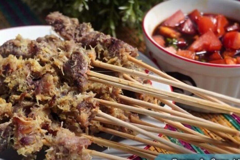 Sate Daging Sapi Bumbu Kelapa (1)